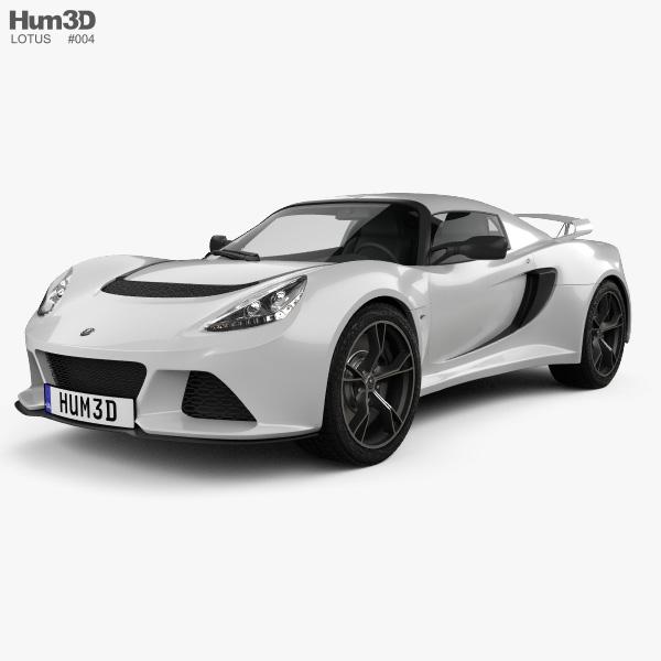 Lotus Exige: Lotus Exige S 2012 3D Model
