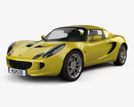 Lotus Elise 2002 3D model
