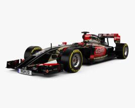 Lotus E22 2014 3D model