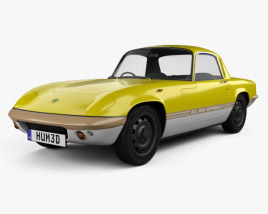 Lotus Elan Sprint Fixed-head Coupe 1971 3D model