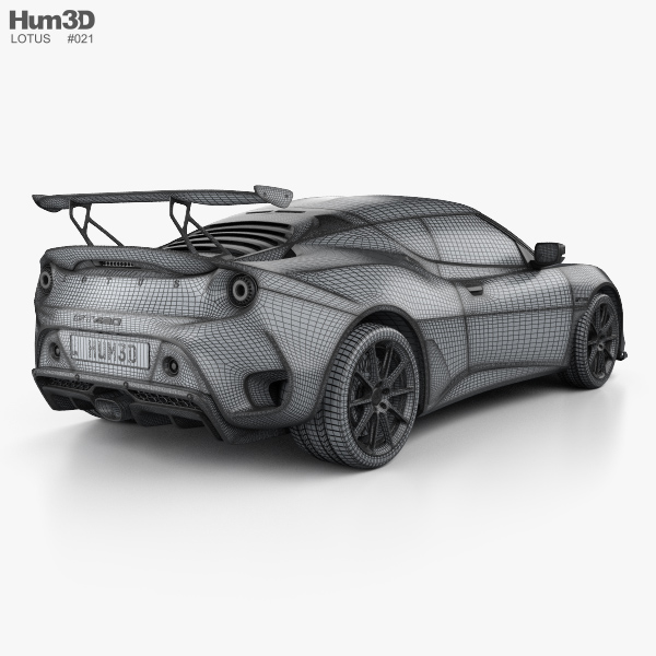 2017 Lotus Evora 400 Camshaft: Lotus Evora GT 430 2018 3D Model