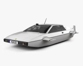 Lotus Esprit James Bond Wet Nellie 1977 3D model