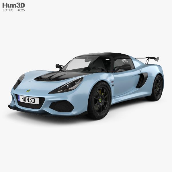 Lotus Exige: Lotus Exige Sport 410 2018 3D Model