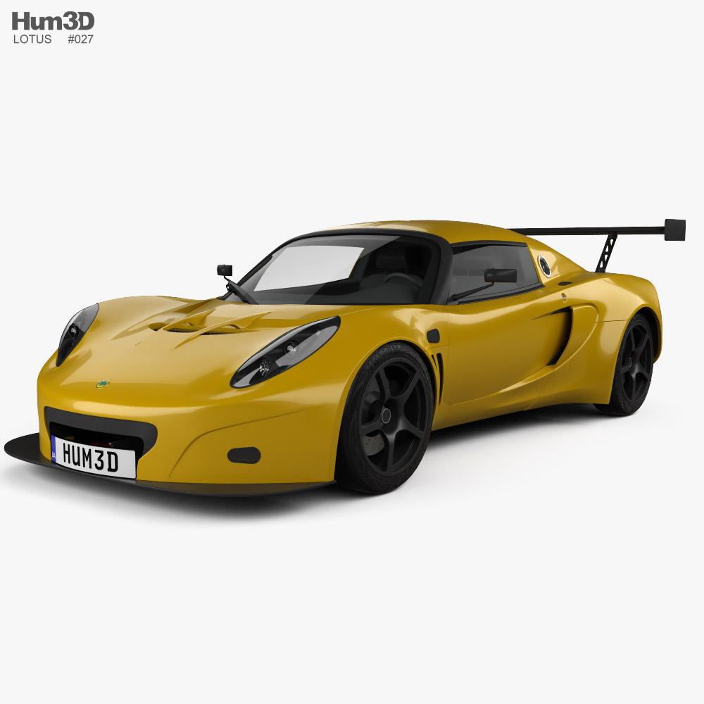 Lotus Exige GT3 2003 3d model