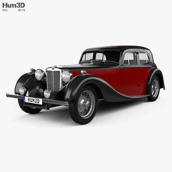 Mg Sa Saloon 1936 Model