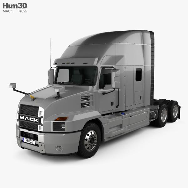2018 Mack Truck Tractor : Mack anthem standup sleeper cab tractor truck d