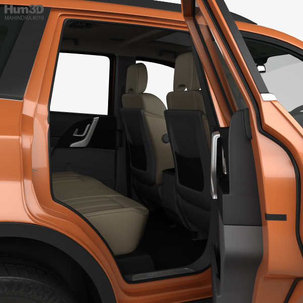 ... Mahindra XUV 500 With HQ Interior 2015 3d Model ...