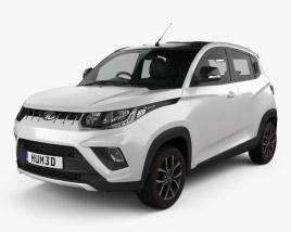 Mahindra KUV 100  2018 3D model