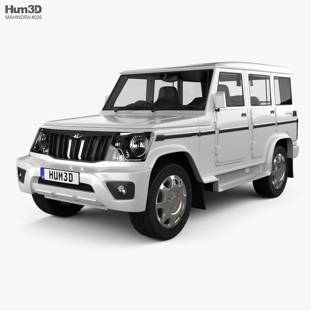 Mahindra Bolero 2020 3d model