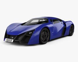 Marussia B2 2010 3D model