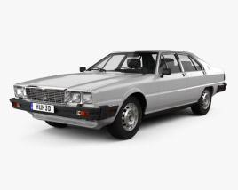 Maserati Quattroporte (Royale) 1979 3D model