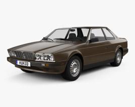 Maserati Biturbo 1982 3D model