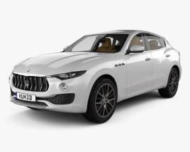 Maserati Levante with HQ interior 2017 3D model
