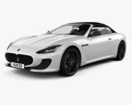 Maserati GranCabrio MC 2013 3D model
