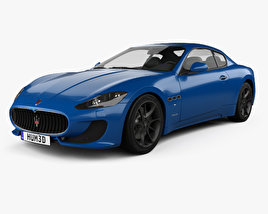 Maserati GranTurismo Sport 2012 3D model