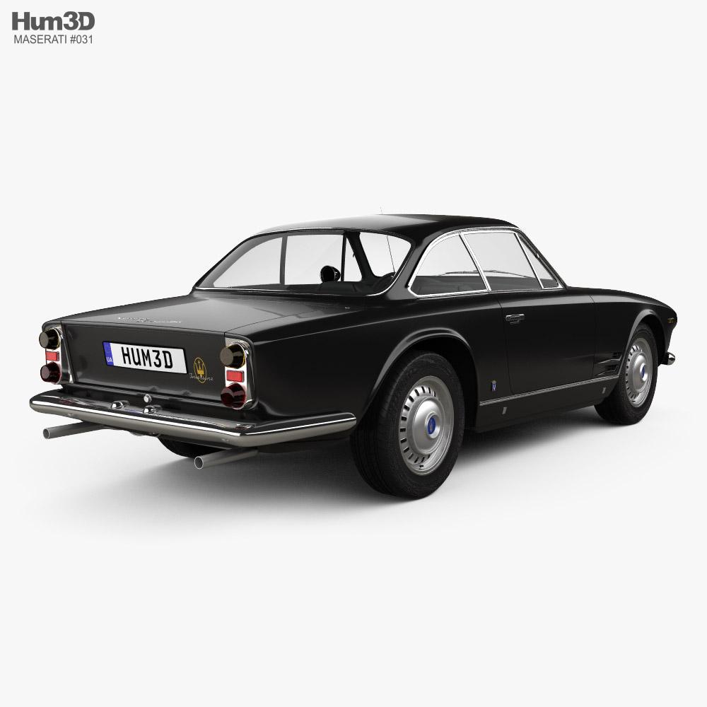 Maserati 3500 GTi Sebring 1965 3d model