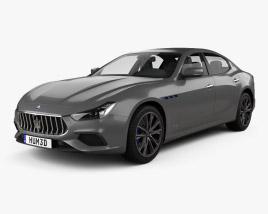 Maserati Ghibli Hybrid GranSport 2020 3D model