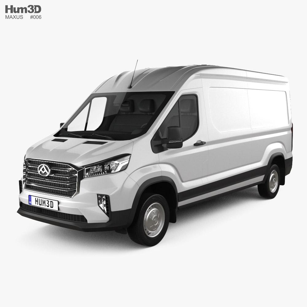 Maxus Deliver 9 Panel Van L2H2 2020 3d model