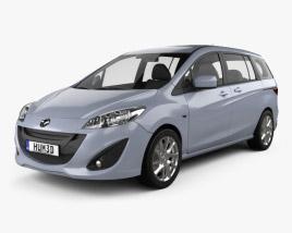 Mazda 5 (Premacy) 2011 3D model