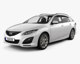 Mazda 6 Wagon 2011 3D model