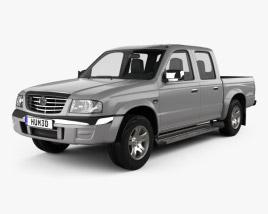 Mazda B-series (UN) 2500 Double Cab 2004 3D model