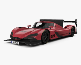 Mazda RT24-P Racecar 2017 3D model