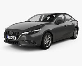 Mazda 3 BM sedan 2017 3D model