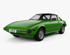 Mazda RX-7 1978 3D model