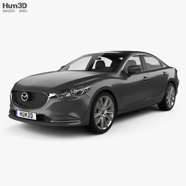 2018 Mazda Mazda6 Camshaft: Mazda 6 Sedan 2018 3D Model