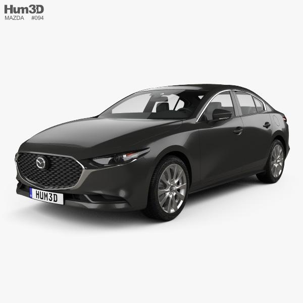 2019 Mazda Mazda3: Mazda 3 Sedan 2019 3D Model