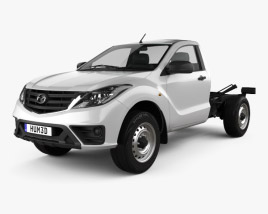 Mazda BT-50 Single Cab Chassis 2018 3D model