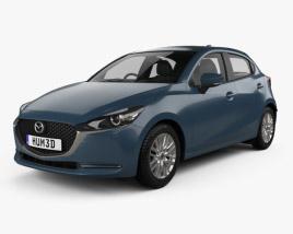 Mazda 2 hatchback 2019 3D model