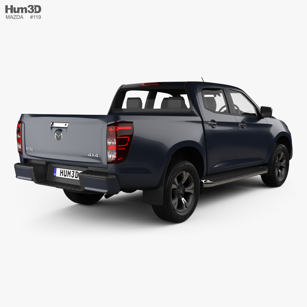 Mazda BT-50 Double Cab 2020 3d model