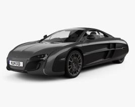McLaren X-1 2012 3D model