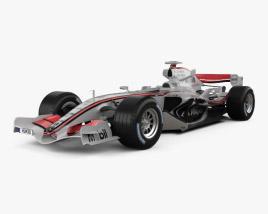 McLaren MP4-21 2006 3D model