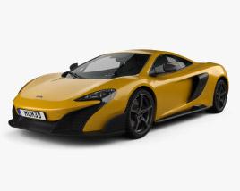 McLaren 675LT 2014 3D model