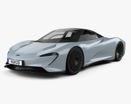 McLaren Speedtail 2019 3D model