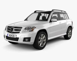 Mercedes-Benz GLK-Class 2010 3D model