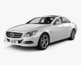 Mercedes-Benz CLS-Class (W218) 2012 3D model