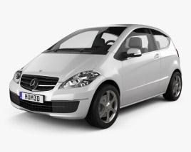 Mercedes-Benz A-Class W169 Coupe 2010 3D model