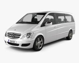 Mercedes-Benz Viano Extralong 2011 3D model