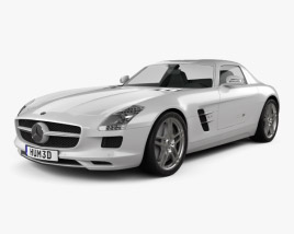 Mercedes-Benz SLS AMG 2011 3D model