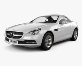 Mercedes-Benz SLK-Class (R172) 2012 3D model