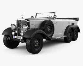 Mercedes-Benz G4 Offroader 1939 3D model