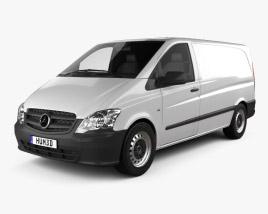 Mercedes-Benz Vito W639 Panel Van Long 2011 3D model