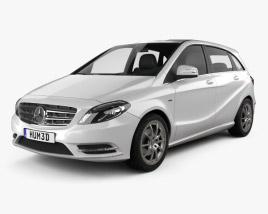 Mercedes-Benz B-class 2012 3D model