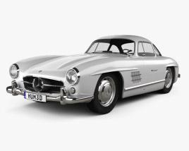 Mercedes-Benz 300 SL Gullwing 1954 3D model