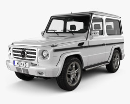 Mercedes-Benz G-Class 3-door 2011 3D model