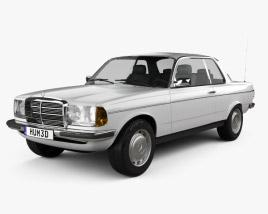 Mercedes-Benz E-Class W123 coupe 1975 3D model