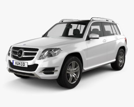 Mercedes-Benz GLK-Class X204 2013 3D model